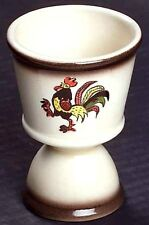Metlox Poppytrail RED ROOSTER Double Egg Cup