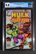 Incredible Hulk vs Quasimodo #1 TV Animated Cartoon 1983 Hunchback of ND CGC 9.8