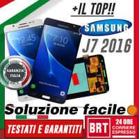 DISPLAY LCD+TOUCH SCREEN PER Samsung Galaxy J7 2016 J710 SM-J710FN SCHERMO VETRO