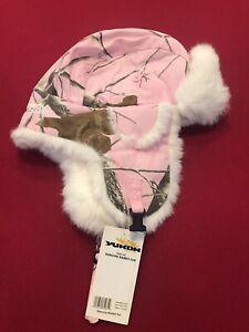 YUKON REALTREE APC Camo with White Rabbit Fur  HG-819