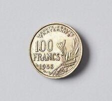 100 Francs Münze Frankreich 1958 Republique Francaise France
