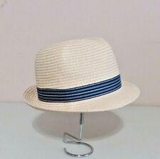 CARTER'S Boy's Straw Fedora Hat