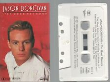 JASON DONOVAN classic 80's aussie cassette THE GOOD REASONS with KYLIE MINOGUE