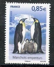 STAMP / TIMBRE  FRANCE  N° 4351 ** MANCHOTS EMPEREURS AVEC POUSSINS
