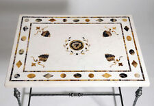 Marble Rectangle Antique Style Coffee Tables