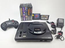 Sega Mega Drive I Konsole + Original Controller + 7 Spiele Sonic, Kid Chameleon