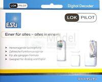 ESU ELECTRONIC 59826 - Decoder LokPilot 5 micro DCC, 6 pin NEM651