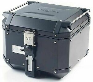 A9500877 GENUINE TRIUMPH BLACK ALUMINIUM TOPBOX for TIGER 900 & 850