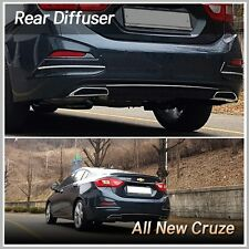 Rear Bumper Lip Diffuser Body Kit for Chevrolet All New Cruze 2017~