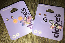 Claire's Ombré Butterfly Daisy Earring Neon Bunny Easter Sensitive Jewelry Lot