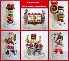 The Danbury Mint Garfield's Christmas Band Figurines - 6 Pc.Set