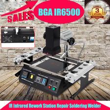 IR6500 BGA Rework Station Máquina de soldadura SMD Soldador Infrarrojo 1250W