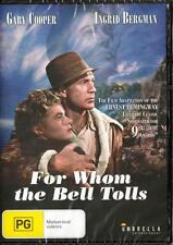 FOR WHOM THE BELL TOLLS - REGION 4 NEW & SEALED DVD - FREE LOCAL POST