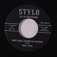 JIMMY FORD: Don't Hang Around Me Anymore / You're Gonna Be Sorry 45 (repro)