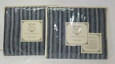 2 NOBLE EXCELLENCE VINTAGE WASHED LINEN EURO SHAMS NWT