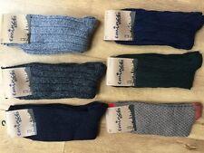 6 Pares De Para Hombre Calcetines largos de lana mezcla térmica Tick Caminar Senderismo Botas de Esquí pkdcws