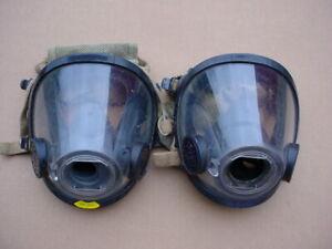 SCOTT AV3000 FACEMASKS SCBA AIR PACK FIRE DEPT FIREMAN FIRE FIGHTER 1S1M