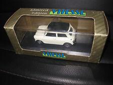 1.43 EARLY VITESSE MORRIS MINI 1000 MK2 SUPER DE-LUXE 1967 WHITE OLD STOCK L044C