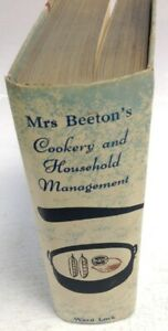 Mrs Beeton's Cookery And Household Management Book 1961 Vintage Collectable Book