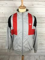 Mens Adidas Vintage Firebird Track Top - Large - Grey - Great Condition