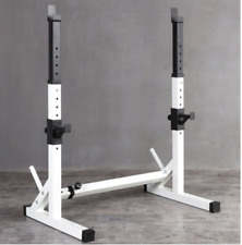 Gym Squat Rack Stands Weight Bench Heavy Duty perfect for storage