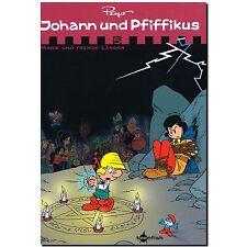 Johann und Pfiffikus 5 Magie und fremde Länder Peyo 9783868699999 ABENTEUER