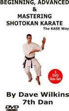 Beginning, Advanced & Mastering Shotokan Karate 3 DVD Box Set by Dave Wilkins