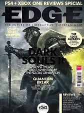 EDGE #262 1/2014 DARK SOULS II Quantum Break PS4 + XBOX ONE REVIEWS SPECIAL @NEW