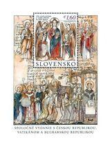 2013 Evangelizzazione di San Cirillo e Metodio - Slovacchia - foglietto