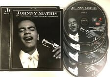Johnny Mathis 60th +1 Anniversary Classic Singles & Favorite Songs 4-disc CD Set