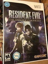 BRAND NEW Resident Evil: The Darkside Chronicles (Nintendo Wii, 2009)
