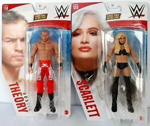 WWE Mattel Basic Series 120/118 CHASE Version Scarlett/Austin Theory-READ INFO!!