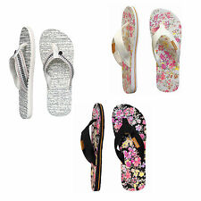 Beach Flip Flops Textile Shoes for Women