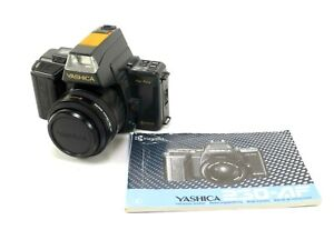 Yashica Kyocera 35mm Film AF SLR Camera with 35-70mm F/3.3-4.5 and Accessories.