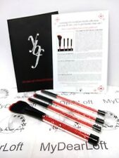 "YBF 4 Piece Stunning Red Crystal ""Bling"" PRO BRUSH MAKE UP Collection NEW sealed"