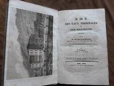 Dr. Döring. EMS SES EAUX THERMALES ET SES ENVIRONS. EMS.1839. L.J.KIRCHBERGER.