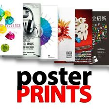 Cheap Poster Printing Personalised Any Size