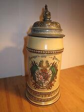 Halle - Turnerschaft Thuringia 1888 Wappen Bierkrug Villeroy & Boch / Studentika