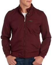 Members Only Mens Red Burgundy Iconic Twill Weave Jacket NWT $125 Size 2XL XXL