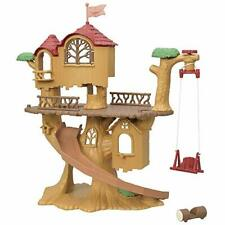 Sylvanian Families forest pounding tree house From Japan ko-61