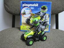 Playmobil - Carreras - Vehiculo Quad Todoterreno Moto - 4427 - (COMPLETO) OVP