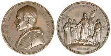 Medaglia Leone XIII Anno XIX Cristo fra Scismatici Oriente e Occidente #MD430