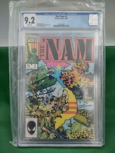 The 'NAM #1 9.2 CGC Comic Book White Pages-Fresh from CGC-See photos-Free Return