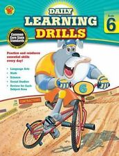 Daily Learning Drills, Grade 6 (Brighter Child: Daily Learning Drills)
