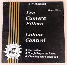 LEE Filter 100mmx100mm 1B UV Absorber