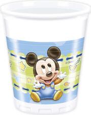 Gobelets Bébé Mickey x8