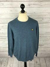 LYLE & SCOTT Jumper - XXL - Blue - Wool Blend - Great Condition