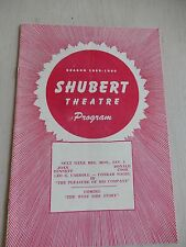Dec. 1959 - Shubert Theatre Playbill - J.B. - Michael Higgins - Frederic Worlock