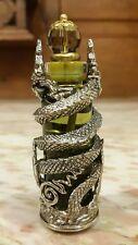 Thai amulet Jantra Maha mongkol Naga Hypnotizing oil with See puang Lp. Nearkeaw