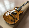 1959 R9 LP Electric Guitar Tiger Flame Brown Burst Standard Electric Guitars